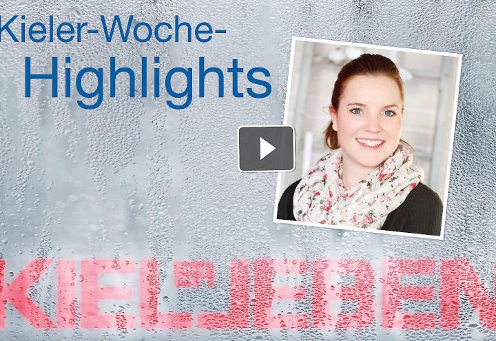 Video: Kieler Woche Highlights am 24. Juni 2016