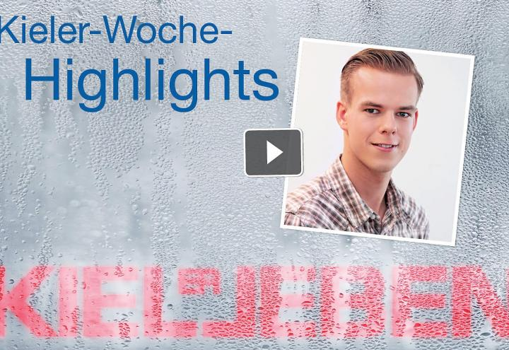Video: Kieler Woche Highlights am 25. Juni 2016