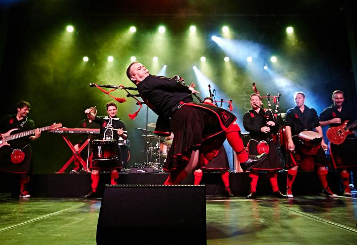 The Red Hot Chilli Pipers live am 30. Oktober