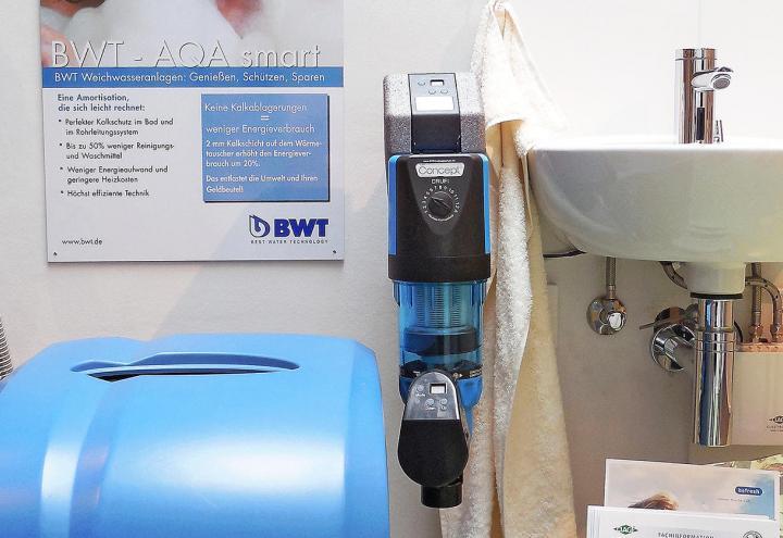 Weichwasser-Anlagen für Ihr Zuhause