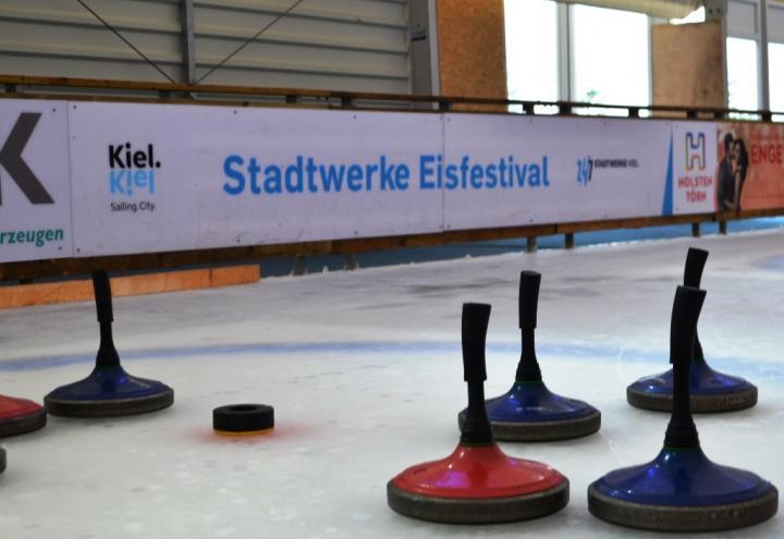 Eröffnung des Stadtwerke Eisfestivals am 18. November
