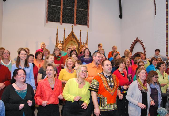 Gesang voller Groove in der Nikolaikirche