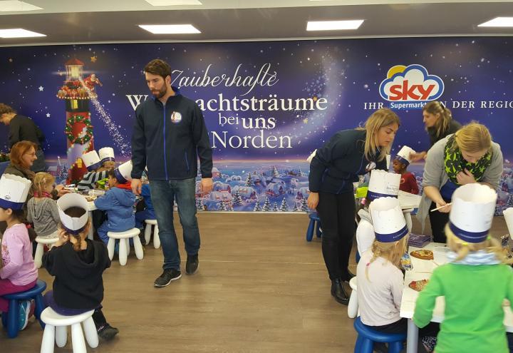 Die Zauberhafte Weihnachtsbäckerei rollt durch den Norden