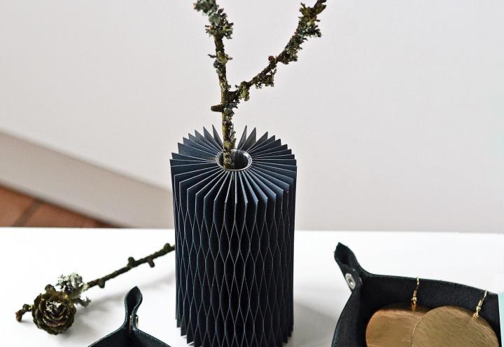 DIY: stilvolle Lederschale