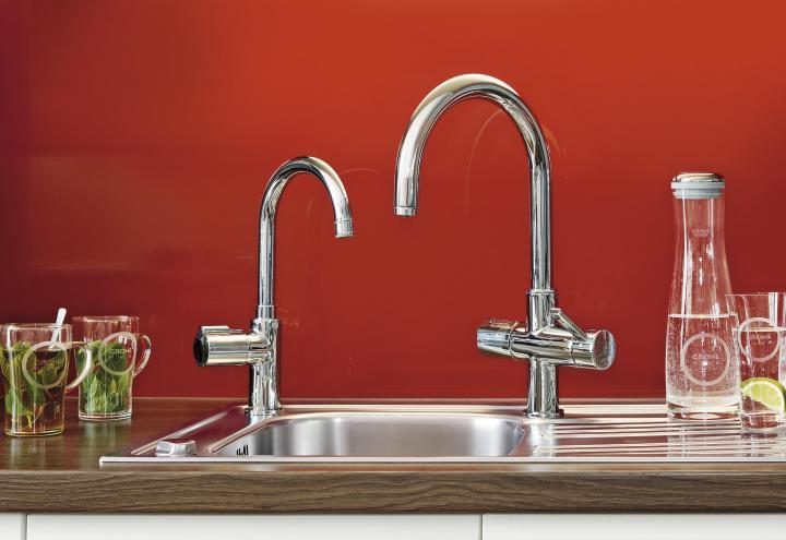 Smarte Wassersysteme für die Küche