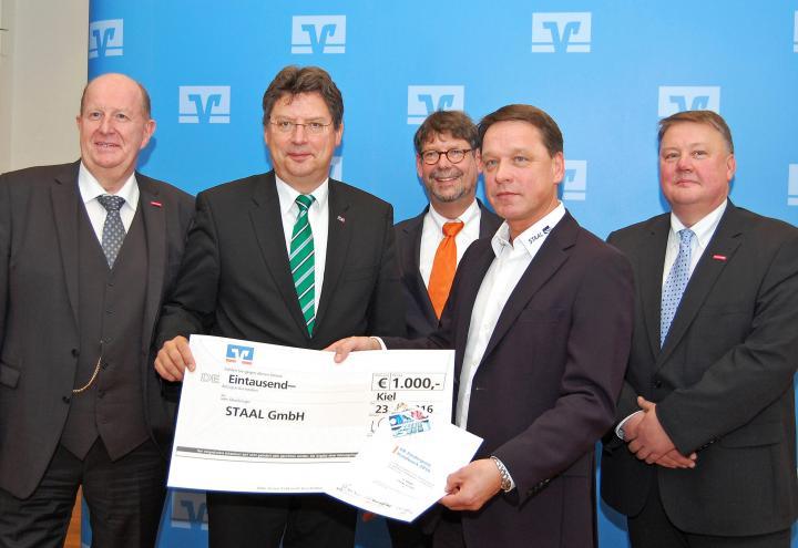 STAAL GmbH mit dem VR-Förderpreis Handwerk ausgezeichnet