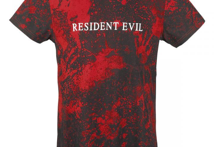 T-Shirt und Kette von Resident Evil
