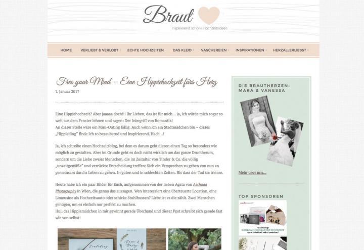 Die schönsten Hochzeits-Blogs für Ja-Sager