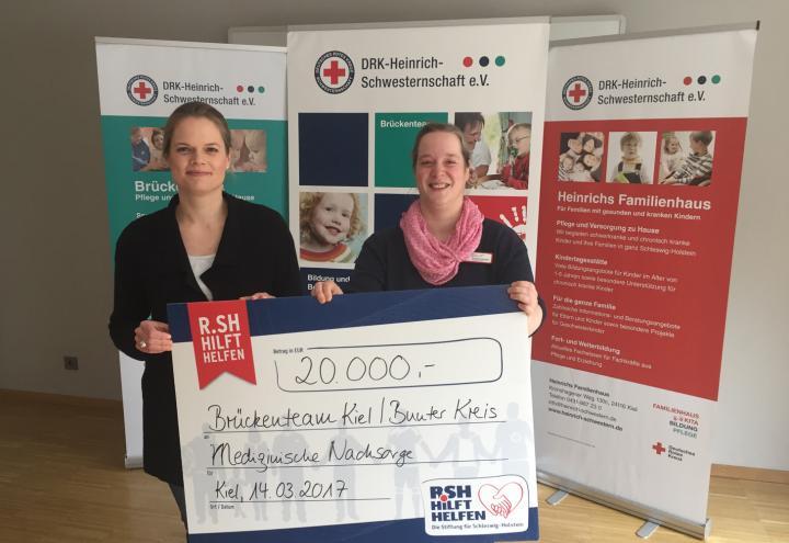 20.000 Euro zugunsten schwerstkranker Kinder