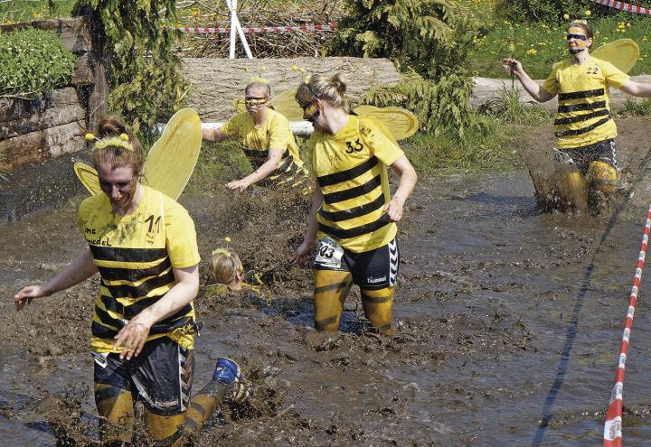 Mit Biene Maja um die Wette laufen