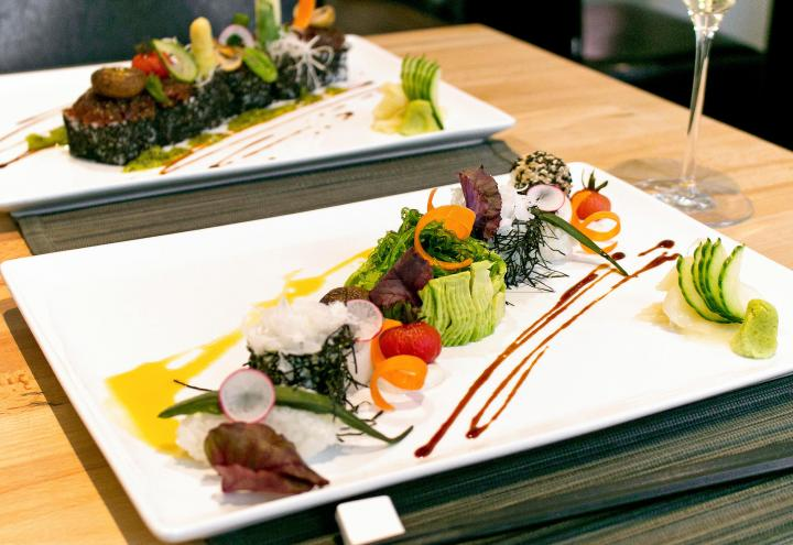 Vegetarische Köstlichkeiten im ann Restaurant