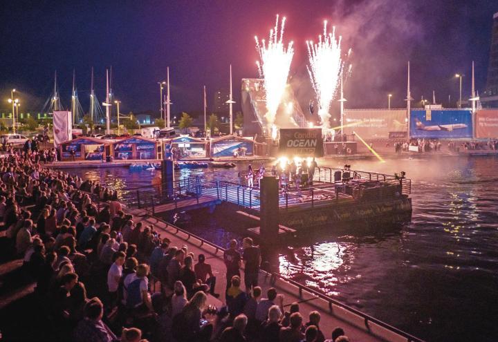 Zehn Tage Adrenalin am Bootshafen