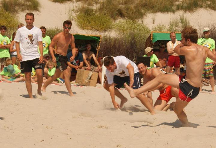 BeachSoccer Cup im Kieler Werftpark