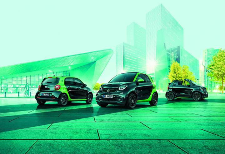 Die neuen smart electric drive-Modelle exklusiv Probe fahren!
