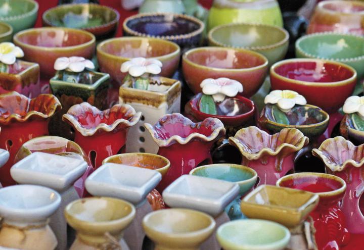 Stöbern auf dem Handwerkermarkt
