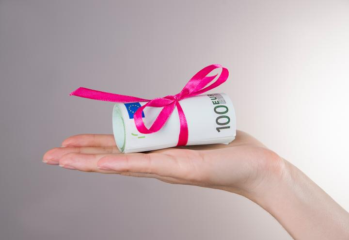 Zum Ausbildungsbeginn Geldgeschenke sichern