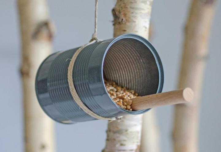 DIY-Tipp: Vogelhaus - klein aber fein
