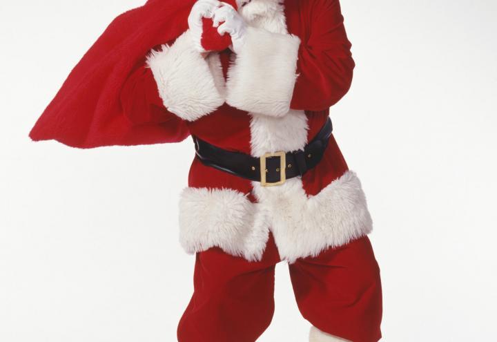 Der Weihnachtsmann zu Besuch im CAP