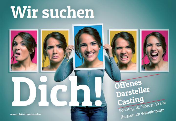 Offenes Darsteller-Casting im Theater am Wilhelmplatz