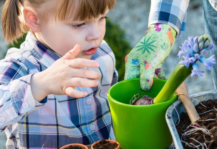 Basteln und mehr beim CAP Kids Frühlingsfest