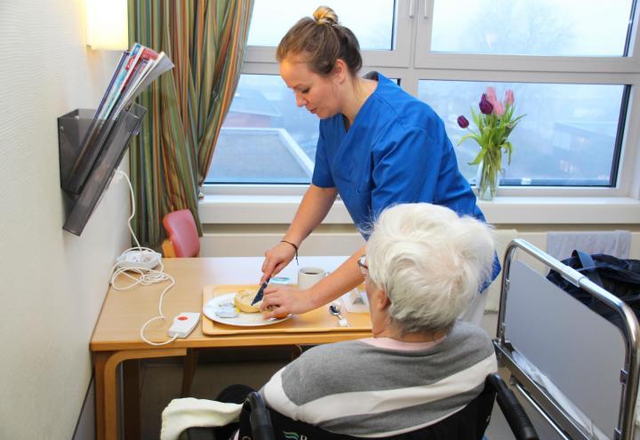 Ein Tag als Gesundheits- und Krankenpflegerin