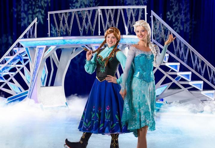 Zauberhafte Show auf Eis