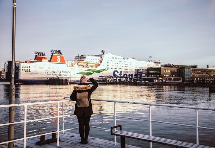 Mit der Stena Line nach Göteborg