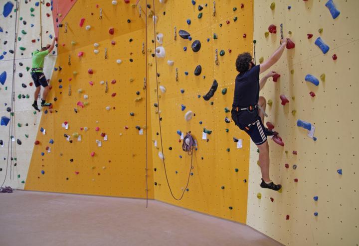 Klettern in der neuen Kieler Kletterbar