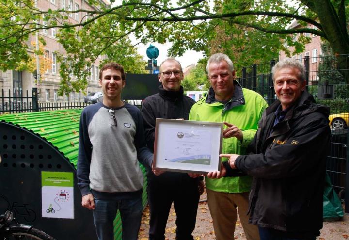 New Communication: Fahrradfreundlicher Arbeitgeber