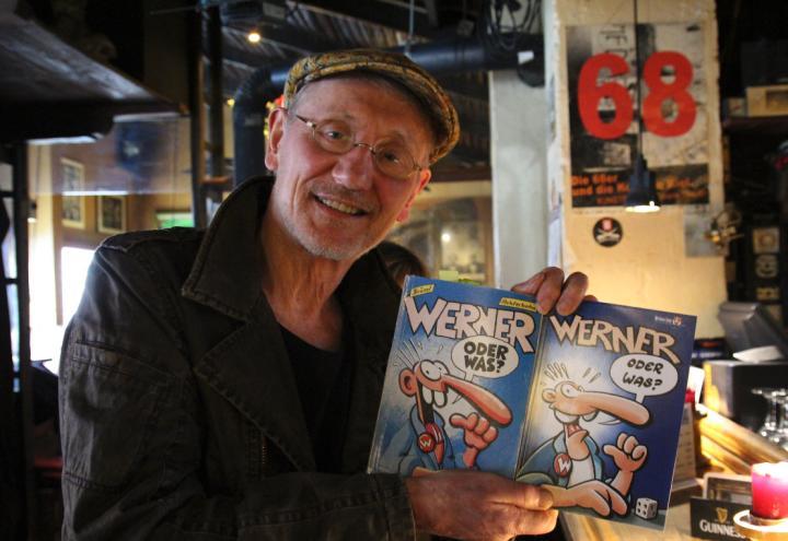 Werner-Zeichner Brösel wird 70 Jahre alt