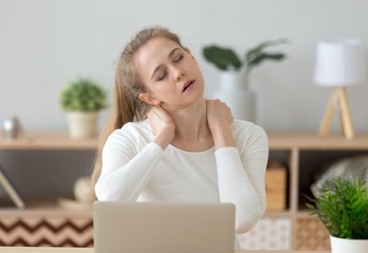 Gesund sitzen – auch im Home Office