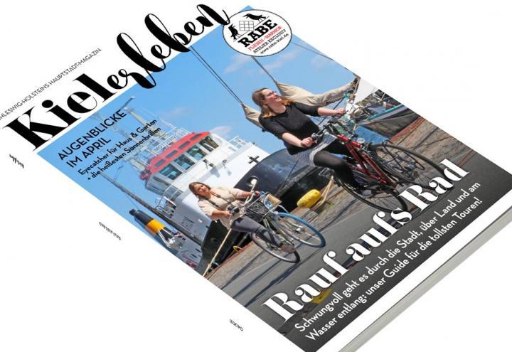 Die April-Ausgabe der KIELerleben ist da!