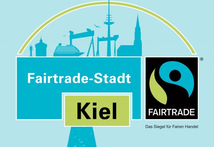 Plakate werben für fairen Handel