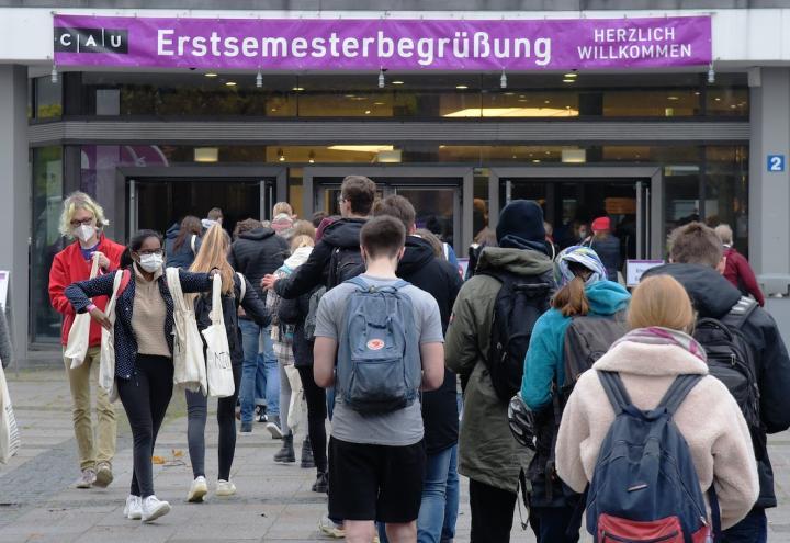 Uni Kiel startet ins neue Studienjahr