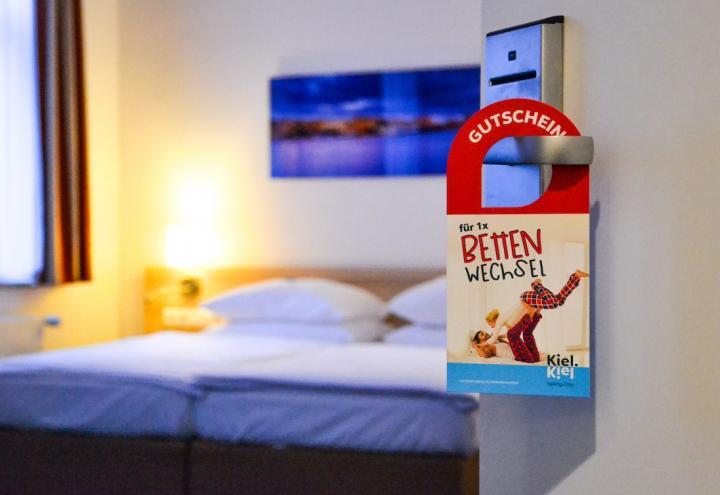 Kieler Hotels bieten ihre Betten an